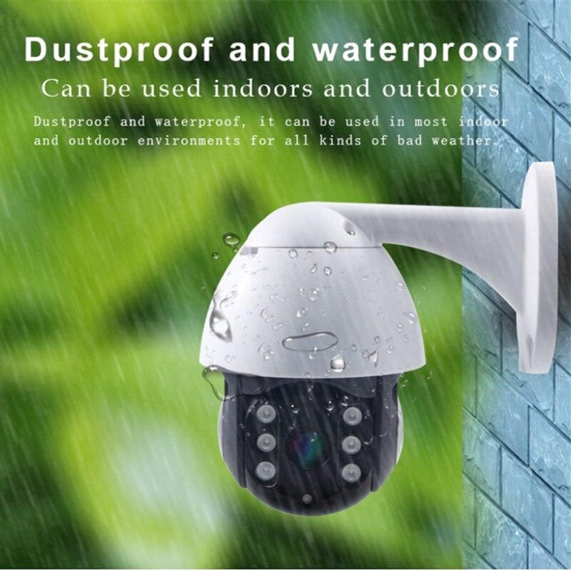 Humano rastreamento cctv câmera ao ar livre 1080 p dome ptz câmera de vigilância seguridad ip wifi exterior câmera de segurança em casa p50135