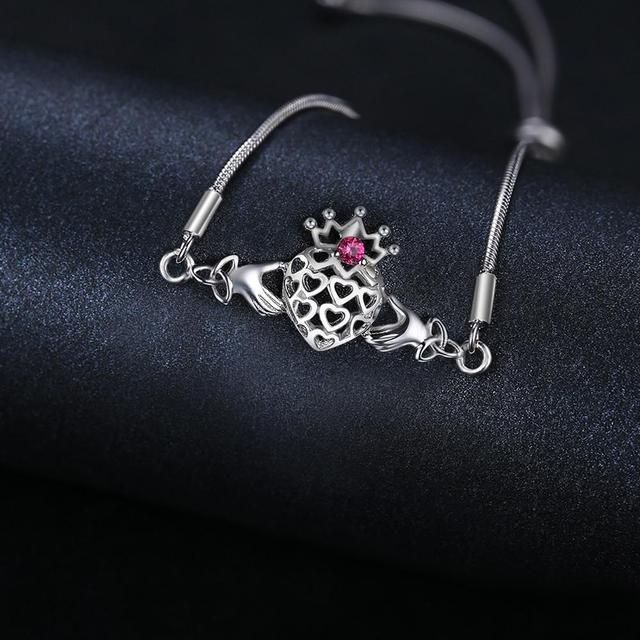 Claddagh Ruby Bracelets