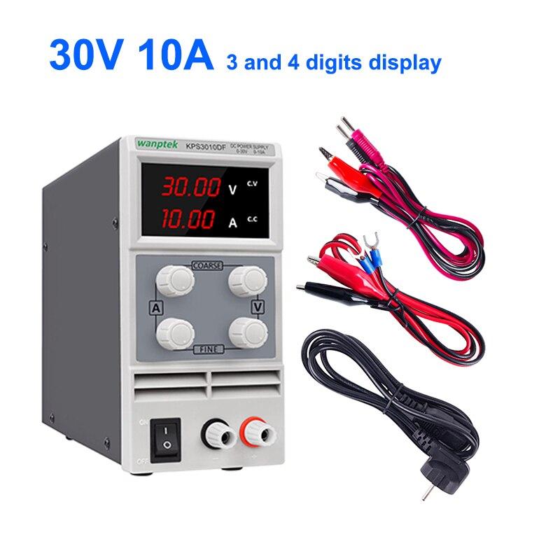 KPS3010D 30V 10A Adjustable Variable Digital LED Regulated DC Power Supply USA