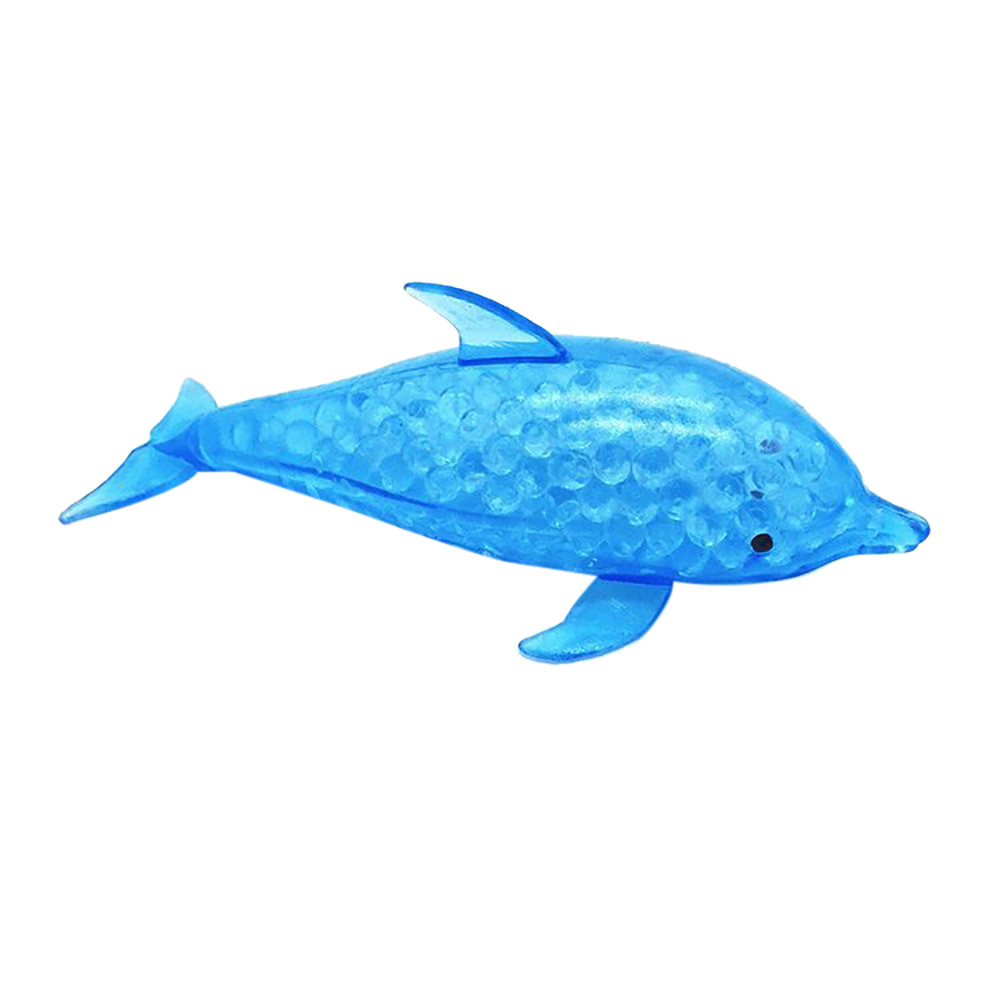 Fidget Sensory Toy Stress-Ball Relief-Toy Squeezable-Stress Animal Bead Dolphin 10ml img4