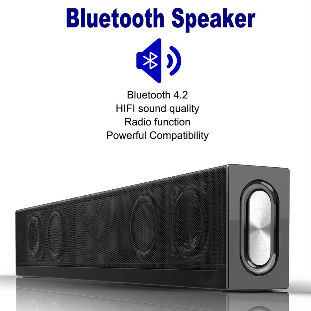 Sonido de alta calidad Bluetooth altavoz TF tarjeta de memoria altavoz inalámbrico audio subwoofer sistema música estéreo Sonido Envolvente - 5
