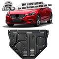 Aiwins автомобильный Стайлинг для Mazda 6 Atenza  пластиковая сталь  защита двигателя для Mazda Atenza 2014-2018  противоскользящая пластина для двигателя  кры...