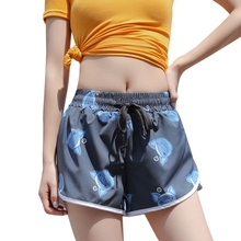 Summer Yoga Shorts Women Comfortable Sports Shorts Gym Workout Waistband Quick-dry Shorts Running Fitness Jogging Yoga Supplies women girls summer sports shorts fitness gym yoga skinny running workout shorts s xl