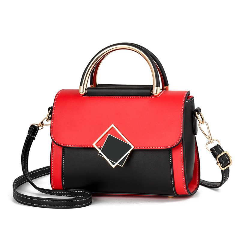 Women Handbags Top Handle Satchel Purse,Ladies Fashion Personality Pu Leather Diagonal Shoulder Bag Gift