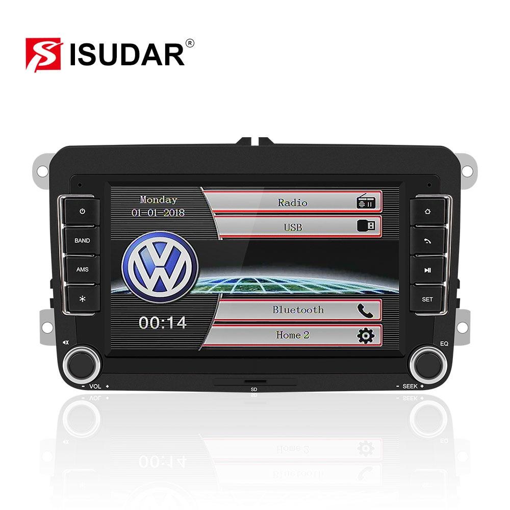 Isudar 2 Din Auto Radio For VW/Volkswagen/Skoda/Octavia/Fabia/Yeti/Superb/Seat Car Multimedia Stereo Canbus Mirror Link Camera