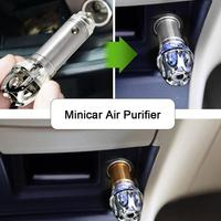 Car Air Purifier Ionizer Air Cleaner Ionic Air Freshener And Odor Eliminator Remove Smoking Smell Purifier Diffuser