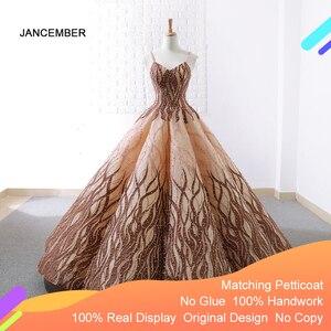 Image 1 - J66695 Jancember Quinceanera Vestito 2020 Fatti A Mano Pesante Fionda Abiti di Sfera Delle Ragazze Masquerade Abiti di Sfera del Vestito Vestidos Para 15 años