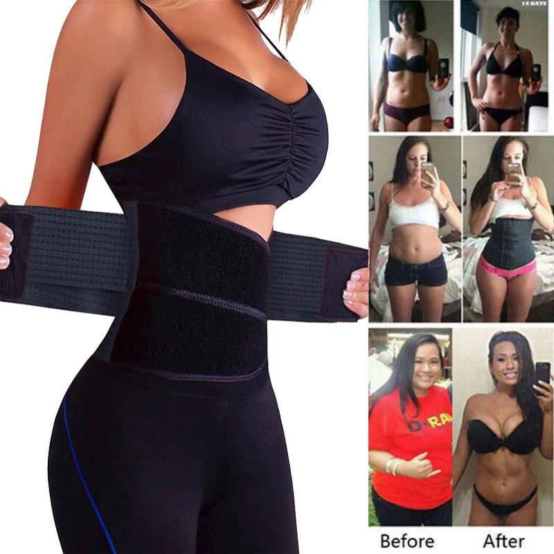 Men/&Women Sweat Neoprene Body Shaper Slimmer Waist Trainer Cincher Sports Belt
