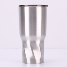 Creative new 30oz twist insulation car cup Double stainless steel diamond ice cube wholesale custom mantis boxing double peg stainless steel wushu weapon accept custom