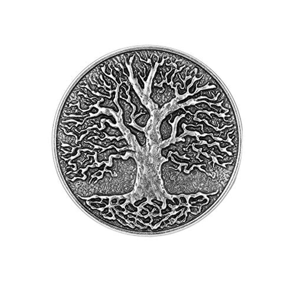 Vintage Silver Life Tree  Belt  Buckle For Woman Western Cowboy Buckle Without Belt Custom Alloy Width 4cm