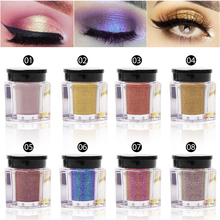 Shimmer Loose Eye Shadow Powder Makeup Pigment Waterproof Glitter Eyeshadow Long Lasting Metallic Eyes Powder Cosmetics shimmer glitter eye shadow loose powder 8 color makeup pigment waterproof diamond eyeshadow nude eyes powder shining cosmetics