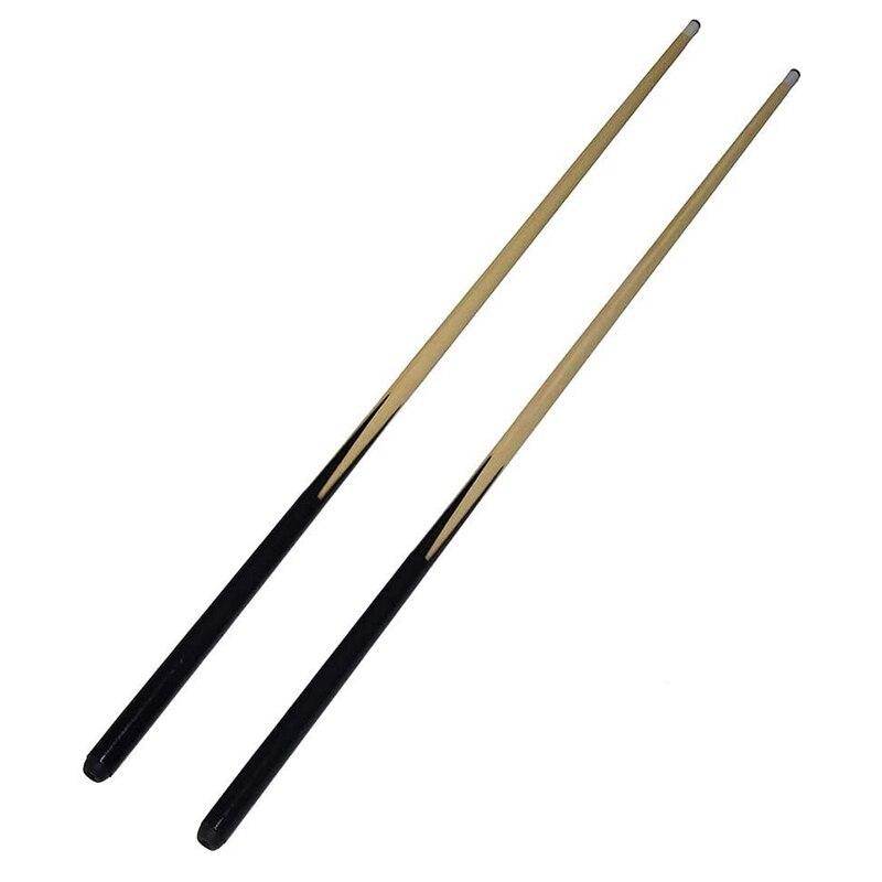 Hot Billiard Cue Sticks 1/2 Wooden Structure Pool Cues Billiard House Pool Cue Sticks Snooker Billiard Accessories