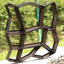 Garden floor Cement Mold Hexagon Decorative Concrete Brick S
