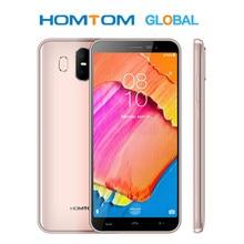 Homtom S17 MT6580 Quad Core 5.5 นิ้ว HD + หน้าจอมาร์ทโฟน 2GB RAM 16GB ROM โทรศัพท์ 13MP + 2MP Dual Back Cam Face ID โทรศัพท์มือถือ