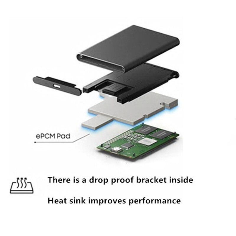 "USB 3.0 External Hard Disk 500GB 1TB 2TB 2.5"" Portable External Hard Drive Disk Slim Portable Extern For Desktop Laptop 4"