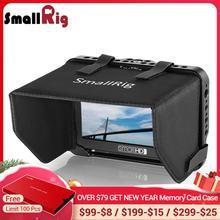 "SmallRig jaula de Monitor con parasol para SmallHD Focus Series 5 "", jaula protectora de monitor + protector solar Hood Kit  2249"