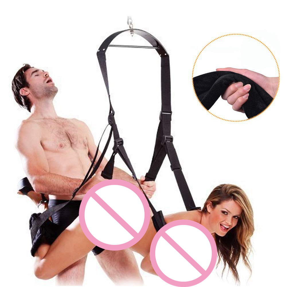 Movconly Adult Indoor Swing Set Indoor Swing with Adjustable Soft Straps Holds up to 800 lbs