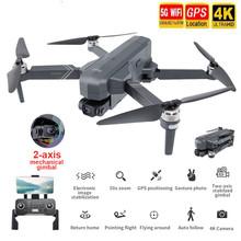 Najlepszy Dron SJRC F11 PRO 4K GPS z Wifi FPV 4K kamera HD dwuosiowy antywstrząsowy bezszczotkowy Quadcopter Vs SG906 Pro 2 Dron tanie tanio Uiettss 4 k hd nagrywania wideo CN (pochodzenie) Kamera w zestawie 1 6 0 cali 100-1200M 6 Gyro 4 kanałów 5Ghz App kontroler