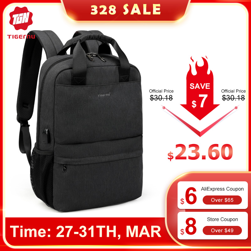 Tigern Female Male Backpack College Student School Men Mochila Bags For Teenagers Vintage Mochila Casual Rucksack Travel Daypack
