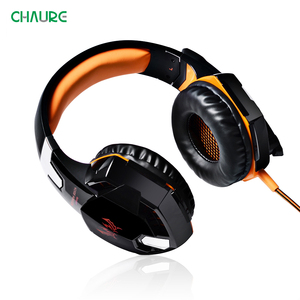 Image 4 - Headset Gamer Over Ear Wired Headset Voor Computer PS4 Nieuwe X BOX Pc Game Deep Bass Stereo Gaming Hoofdtelefoon Met microfoon Led