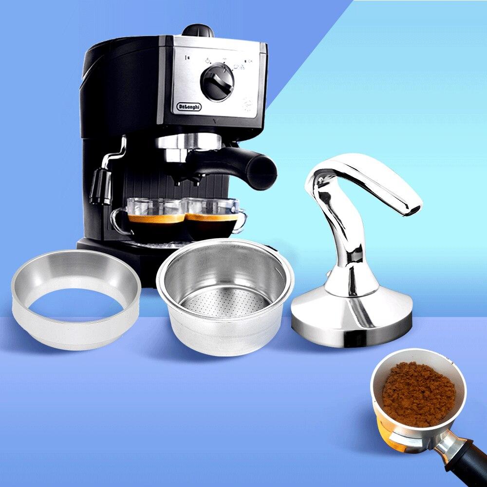 Набор колец для дозирования кофейных тампонов, 51 мм, 58 мм, 3 шт., набор для хранения, Breville Delonghi Krups, кофейная посуда, инструмент, подарок на день рождения, новинка|Пестики для кофе|   | АлиЭкспресс
