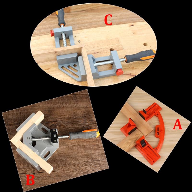 90 градусов быстроразъемный угловой зажим прямоугольный сварочный деревообрабатывающий фоторамка зажимной инструмент
