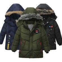 Boy Down Jacket 2018 Winter Warm Baby Boys Star Hooded Wear