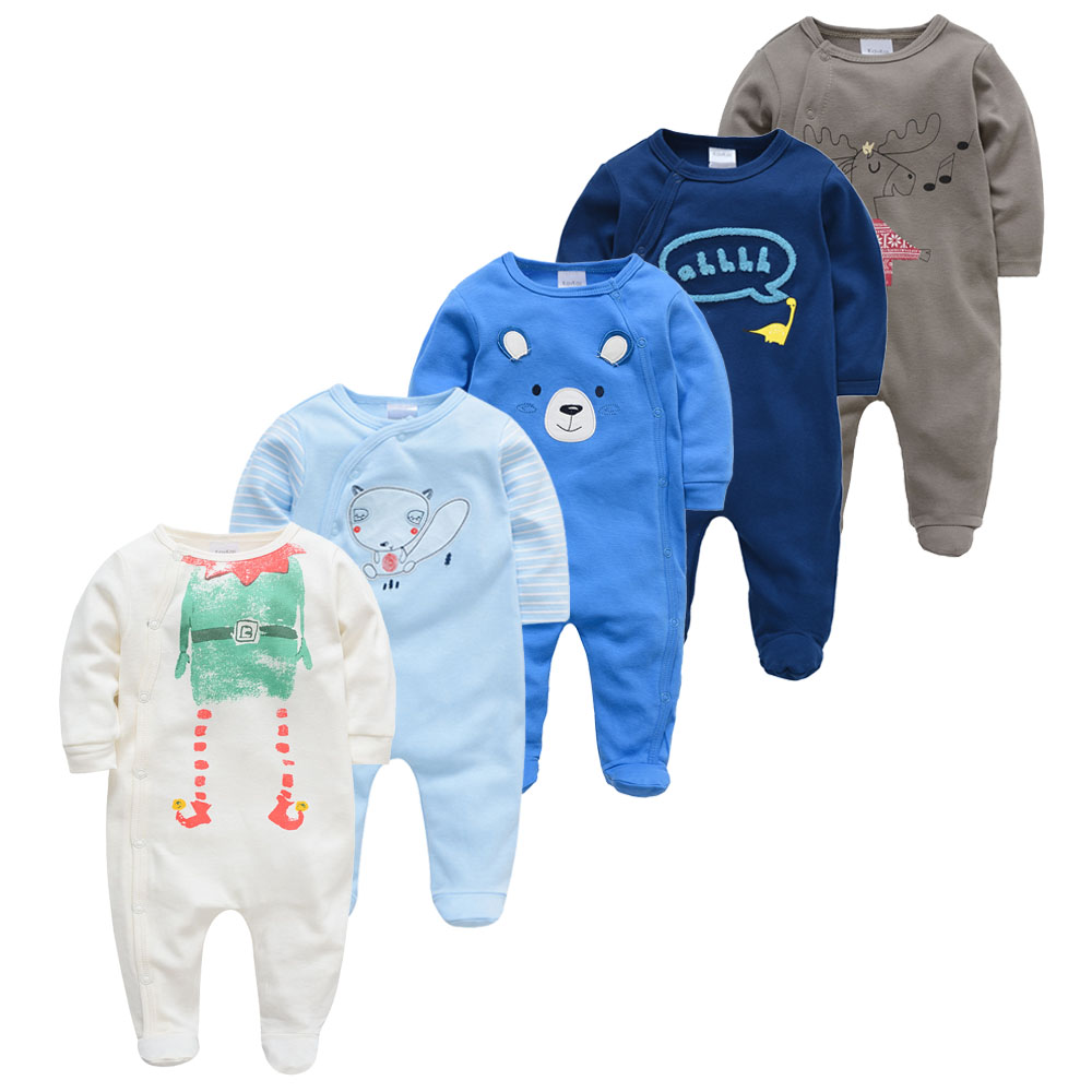 Sleepers Baby Pyjamas Newborn Girl Boy Pijamas Bebe Fille Cotton Breathable Soft Ropa Bebe Newborn Baby Pjiamas
