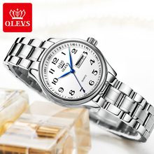 Quartz Watch Fashion Ladies Watches Waterproof Stainless Steel
