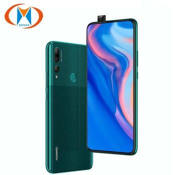 Перейти на Алиэкспресс и купить Глобальная версия huawei Y9 Prime 2019 L22 Dual SIM мобильный телефон 4 Гб ОЗУ 128 Гб ПЗУ 6,59 дюймов отпечаток пальца Восьмиядерный 4000 мАч 4G телефон