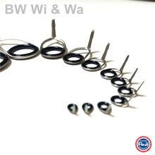 Комплект направляющих BR Wi & Wa FUJI CCKTAG, высококачественный комплект направляющих, комплект направляющих с кольцом Alconite, один комплект из 4 шт.