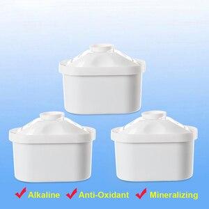 Горячий!-фильтр для воды картридж фильтр Универсальный кувшин для воды домашний картриджный фильтр для банки Brita Maxtra декальцификация воды