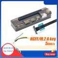 Ngff pci-e versão pcie pci-e v8.4d exp gdc portátil docking station/placa de vídeo portátil externo doca