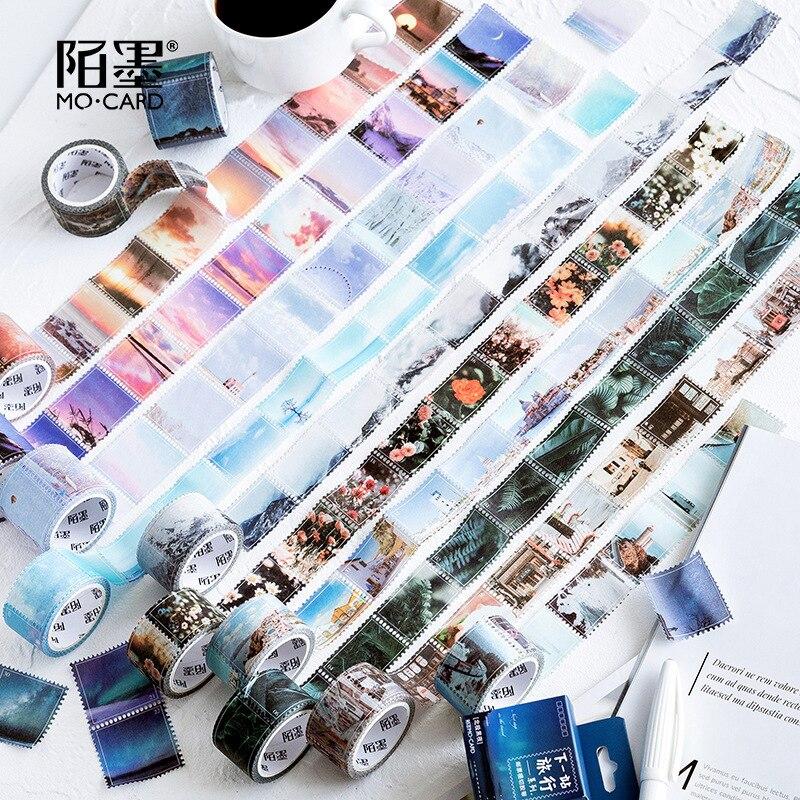 Next Station Travel Series Washi Tape DIY Scrapbooking Sticker Label Masking Tape School Office Supply