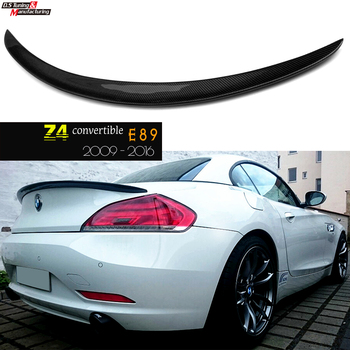 Carbon Fiber E89 Coupe Convertible Design Spoiler Rear Trunk Wings Spoiler for Bmw Z4 2009 - 2016 image