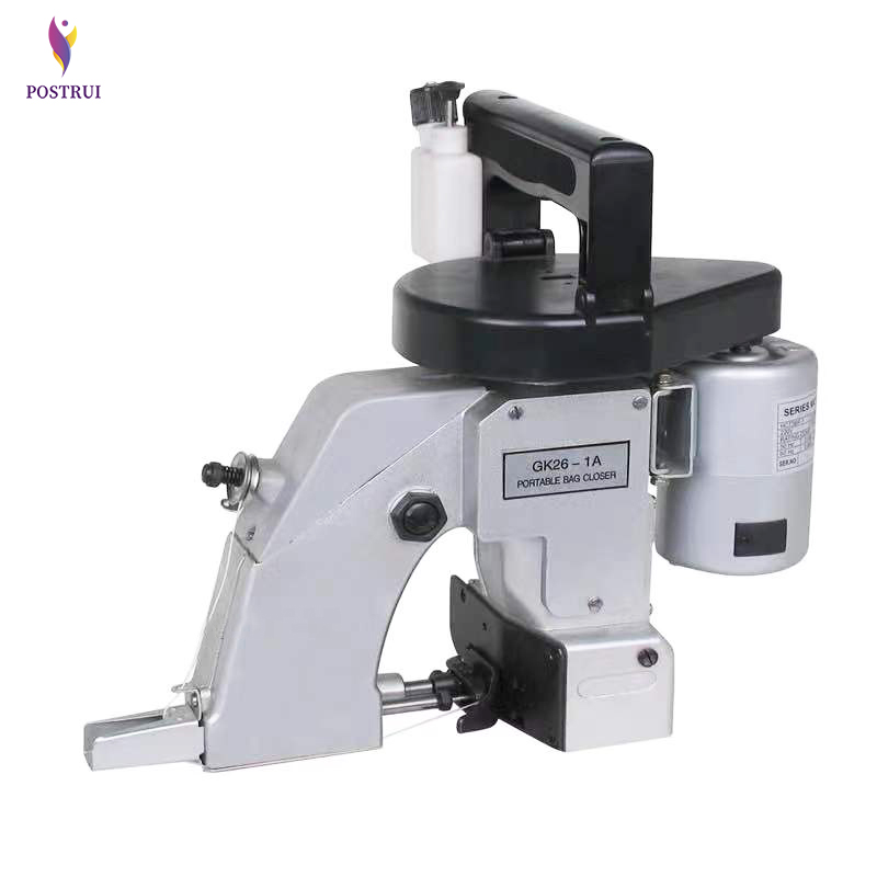 Portable Woven Bag Sewing Machine 220V/ 110V Electric Single Chain Bag Sewing Machine Woven Bag Packer GK26-1A