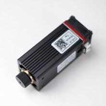 450nm Chuyên Nghiệp 7W Chữ Khắc Laser Mô Đun Đèn Với TTL / PWM Điều Chế Cho Cắt Laser, CNC, Tự Làm Laser