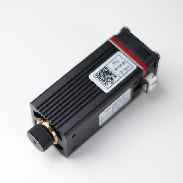 레이저 커팅 머신, CNC, DIY 레이저에 대 한 TTL / PWM 변조와 450nm 전문 7W 레이저 조각 모듈 푸른 빛