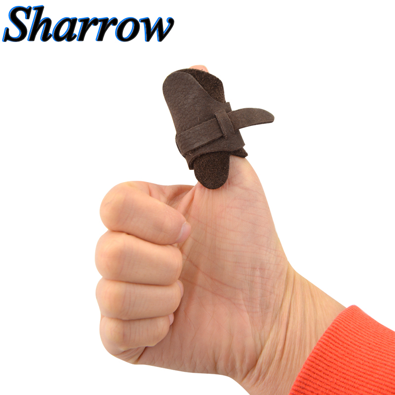 Tool Ring Sport Archery Thumb Finger Guard Protector Bow Shooting High Quality