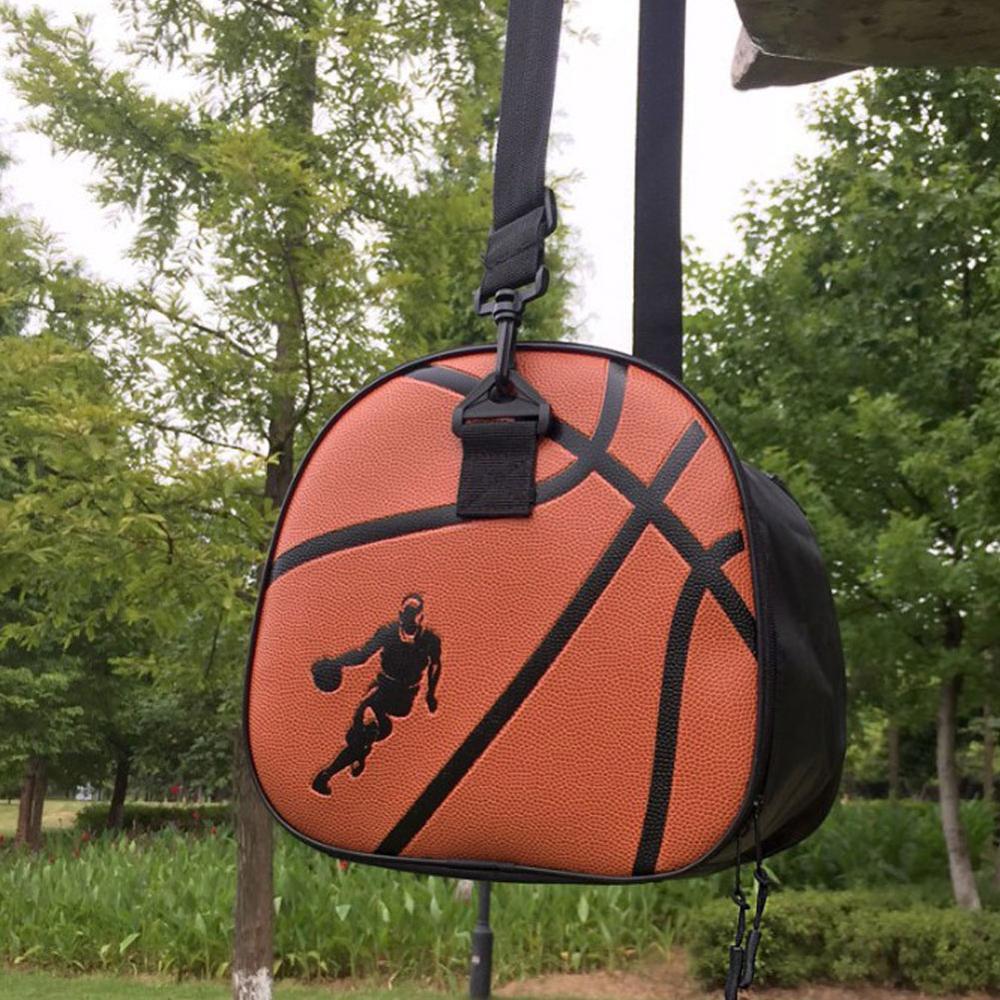 Модная баскетбольная сумка для спорта на открытом воздухе, мужские спортивные сумки для спортзала, баскетбольные сумки, мячи, аксессуары для тренировок-3