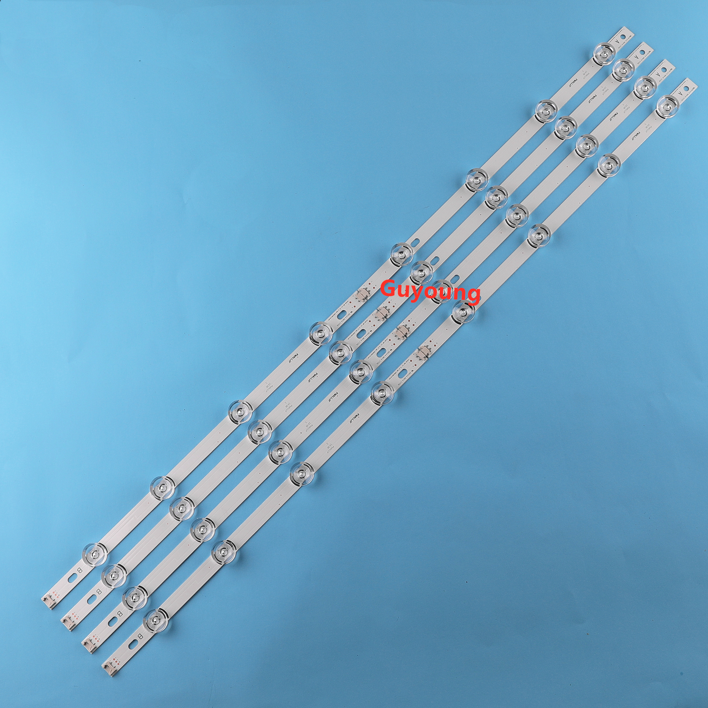 8PCS / Set LED Strip For LG 42LB5800 42LB5700 42LF5610 42LB550V Innotek DRT 3.0 42 A/B 6916L-1709B 6916L-1710B 1709A 1710A