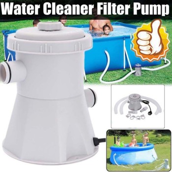 NEW Electric Swimming Pool Filter Pump For Above Ground Pools Cleaning Tool Dish pool basin and pipe racks, no pumping function цена 2017