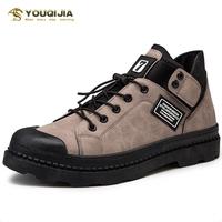 Mens High top Canvas Shoes Flat Lazy Slip on Casual Shoes High quality Non slip Shoes Hot Sale Men Vulcanized Shoes