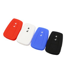 Daefar Silicone Flip Folding Car Key Cover For Toyota CHR C-HR Prius 2016 - 2018 Remote Case Protection Auto Accessories soft tpu car key case cover keychain for toyota avalon 8 camry 2019 levin ioza chr
