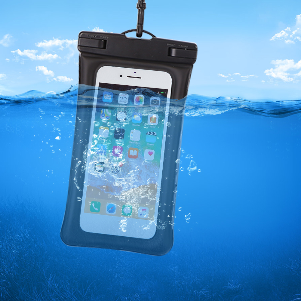 Waterproof Phone Bags Touch Screen Cell Phone Pouch Outdoor Drift Diving Swimming Bag Phone Case Cover Pouch For Swim