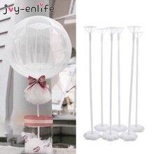 Decoração de casamento suporte balão de mesa balões vara flutuante baloon suporte haste festa de aniversário decoração adulto crianças