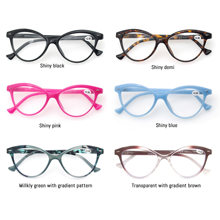 Lesebrille Frauen Cat Eye Vintage Mode Brillen Cateye Retro Klare Linse Damen Ultraleicht Dioptrien 1,25 1,5 1,75 2,25 2,5
