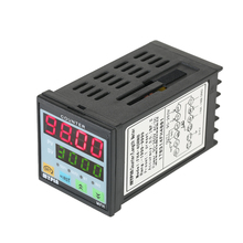 Multi-functional Digital Counter Length Meter Intelligent Dual 4 Digits LED Display AC/DC Preset Electronic Length Counter
