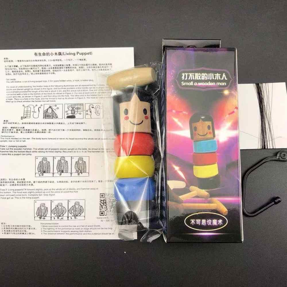 มาใหม่ 1 ชุด Immortal Daruma Unbreakable ไม้ของเล่นเมจิก Magic Tricks ปิด Magic Props ของเล่นสนุกอุปกรณ์เสริม