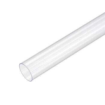 Uxcell, 2 uds., tubo redondo rígido de PVC, longitud de 0,5 M/1,64 pies para la tecnología electrónica de Hardware, buen aislamiento eléctrico